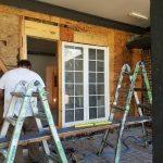 Longford - Front porch reconstruction